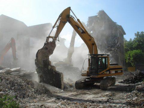 Les entreprises de travaux publics pour la démolition